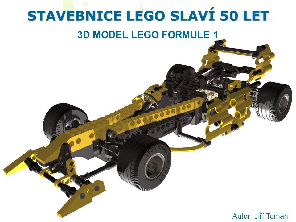 STAVEBNICE LEGO SLAVÍ 50 LET