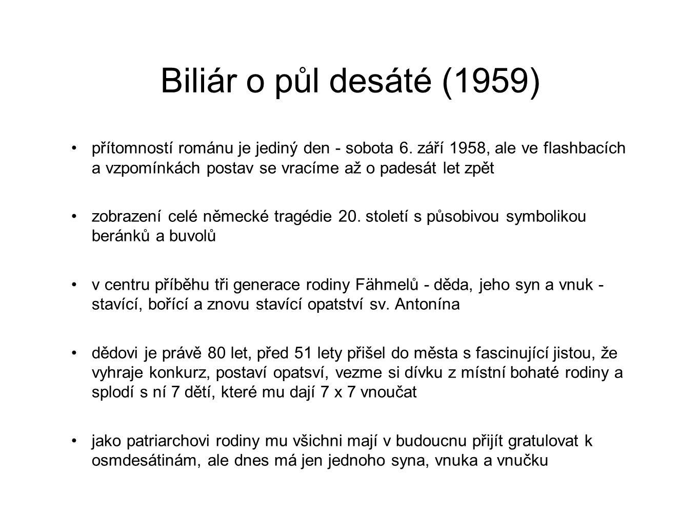Biliár o půl desáté (1959)