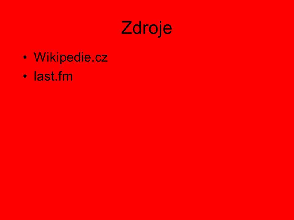 Zdroje Wikipedie.cz last.fm