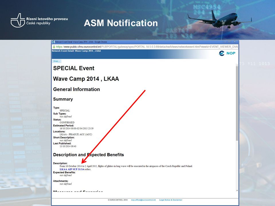 ASM Notification