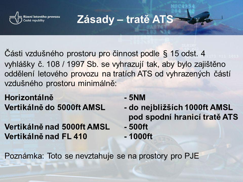 Zásady – tratě ATS