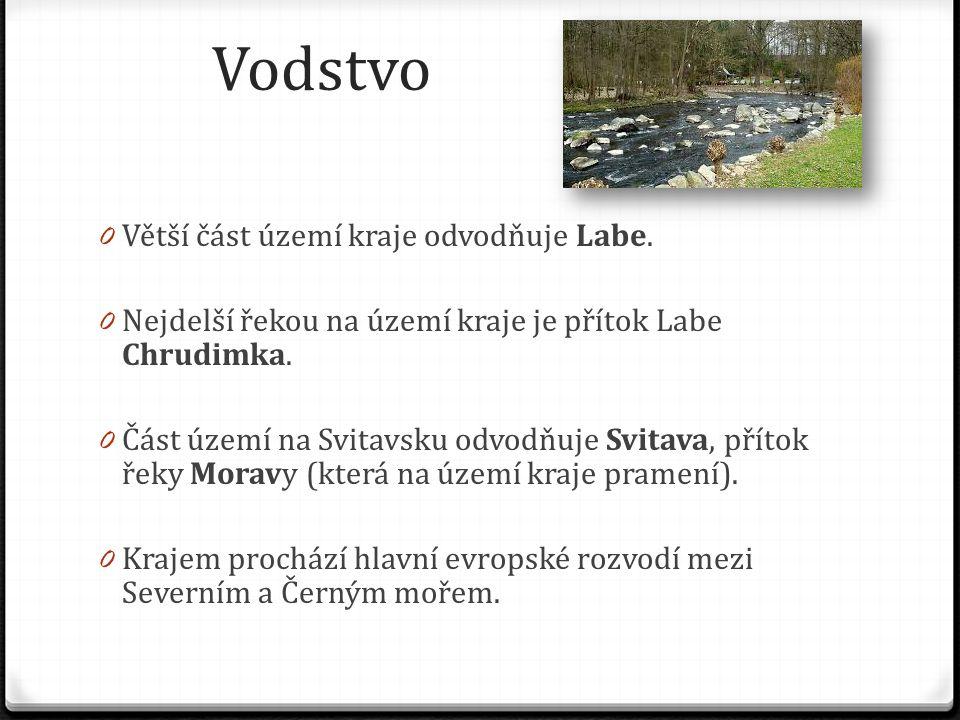 Vodstvo Větší část území kraje odvodňuje Labe.