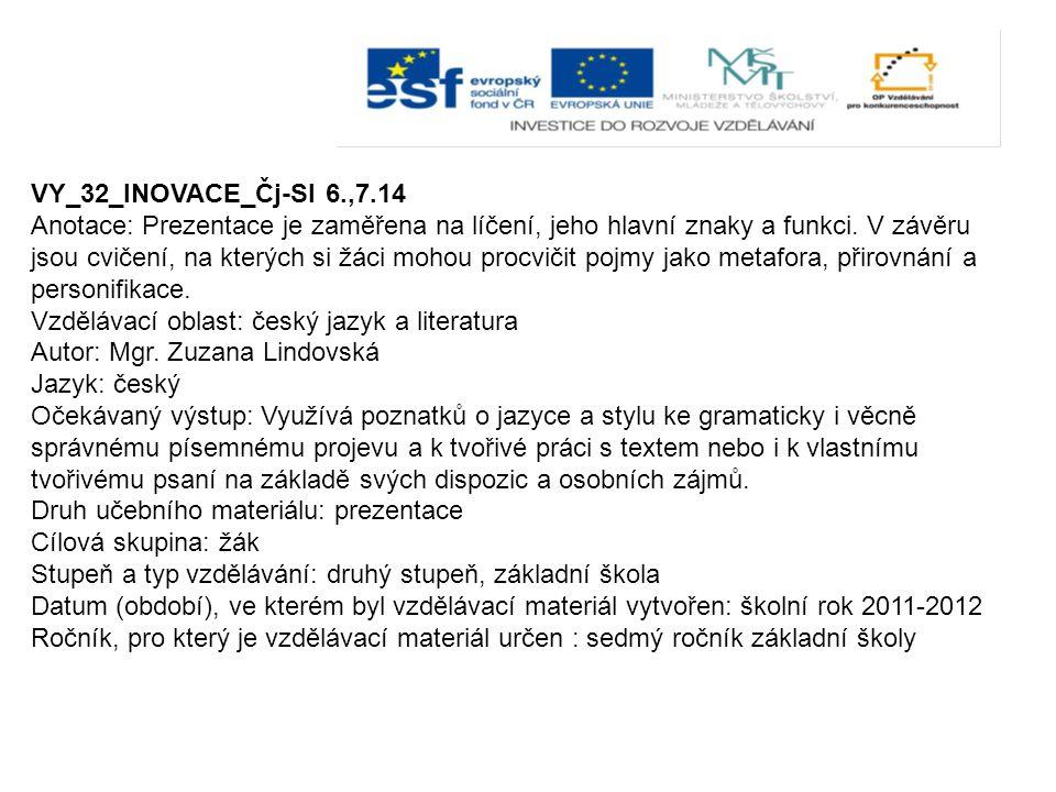 VY_32_INOVACE_Čj-Sl 6.,7.14