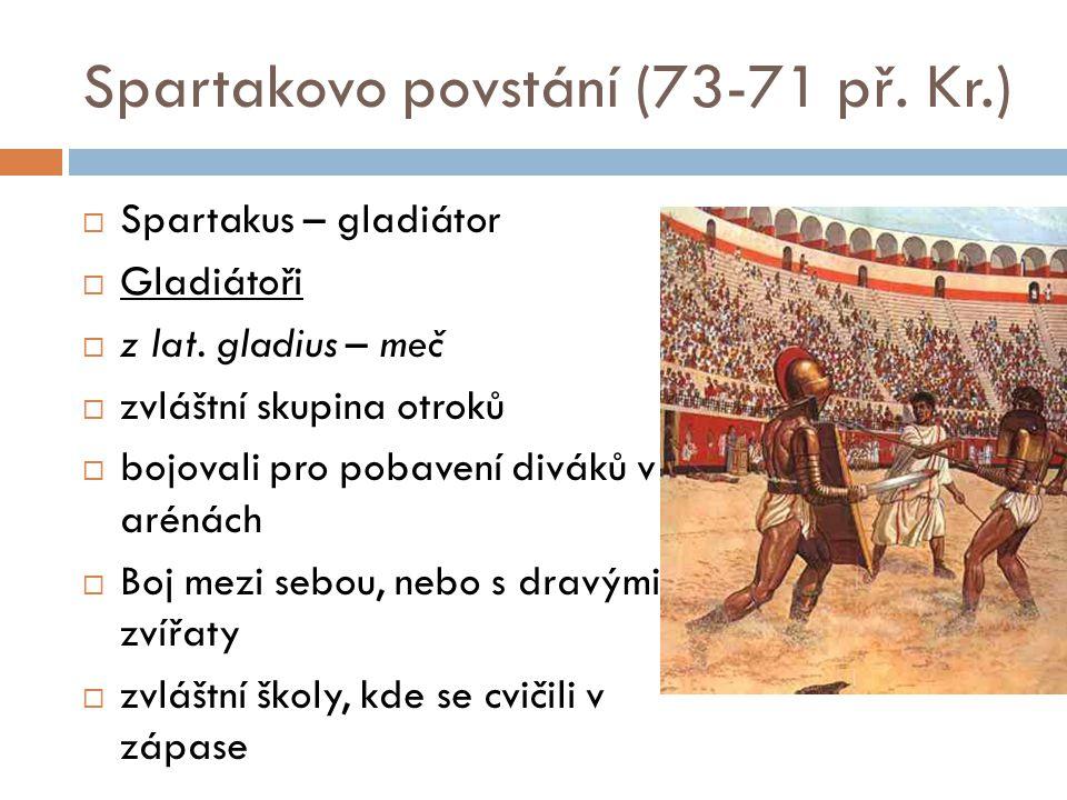 Spartakovo povstání (73-71 př. Kr.)