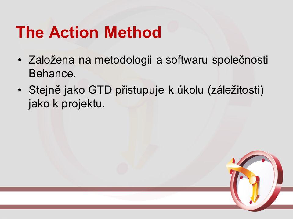 The Action Method Založena na metodologii a softwaru společnosti Behance.