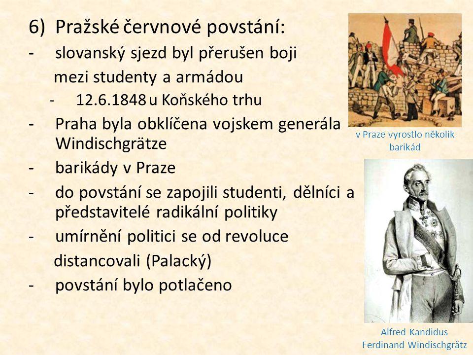Pražské červnové povstání: