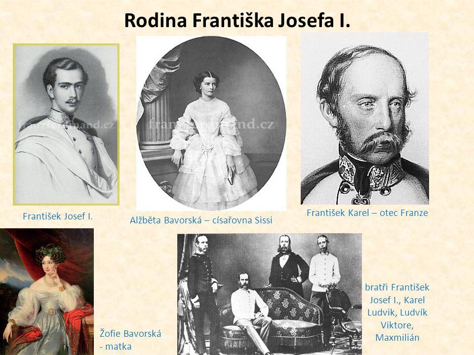 Rodina Františka Josefa I.