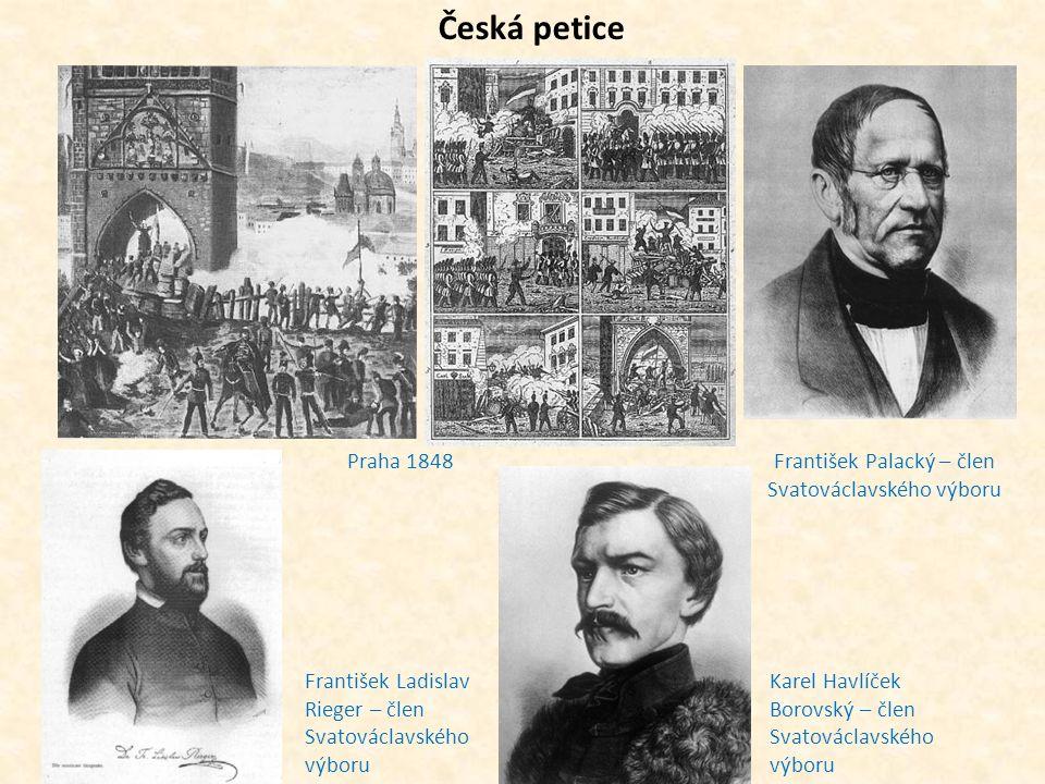 František Palacký – člen Svatováclavského výboru