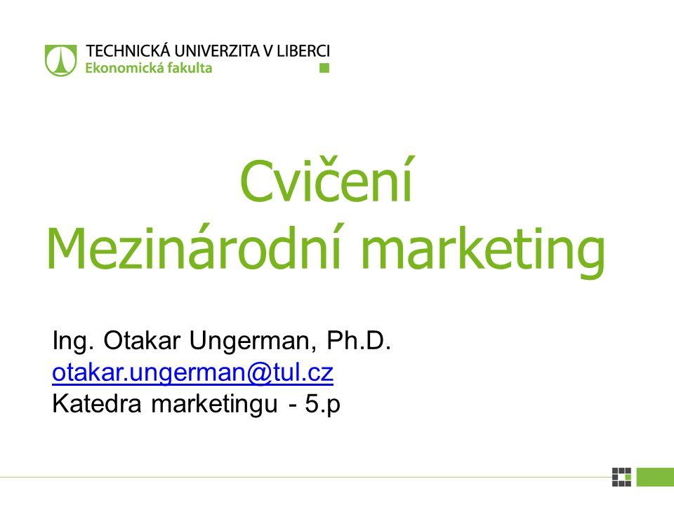 Cvičení Mezinárodní marketing