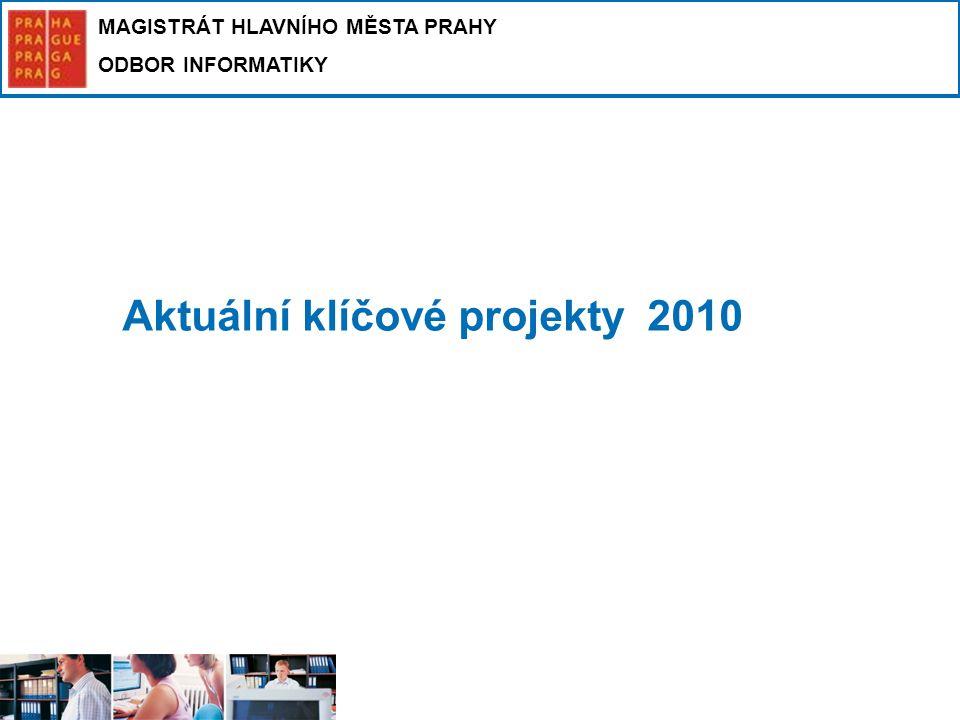 Aktuální klíčové projekty 2010