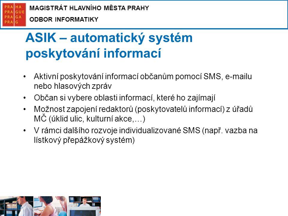 ASIK – automatický systém poskytování informací