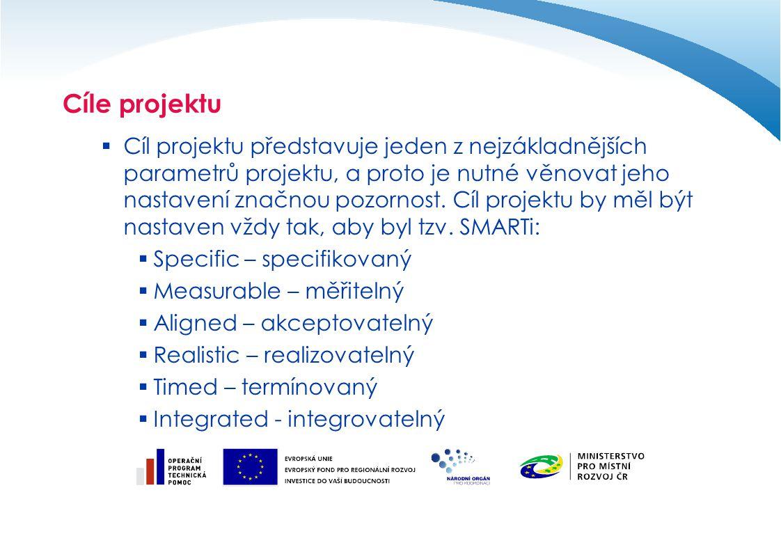 Cíle projektu