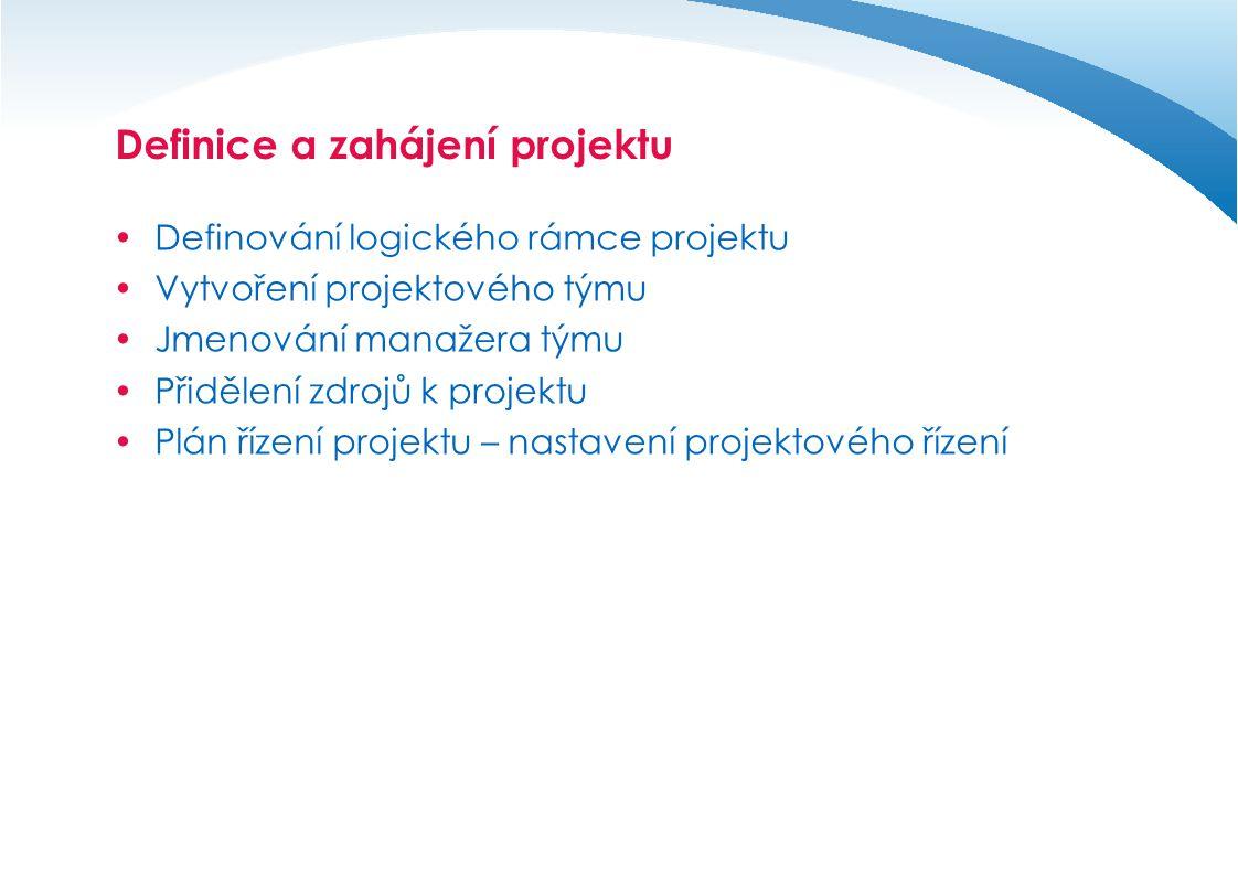 Definice a zahájení projektu