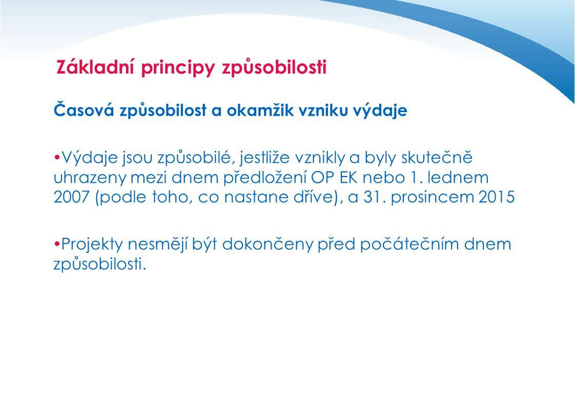 Základní principy způsobilosti
