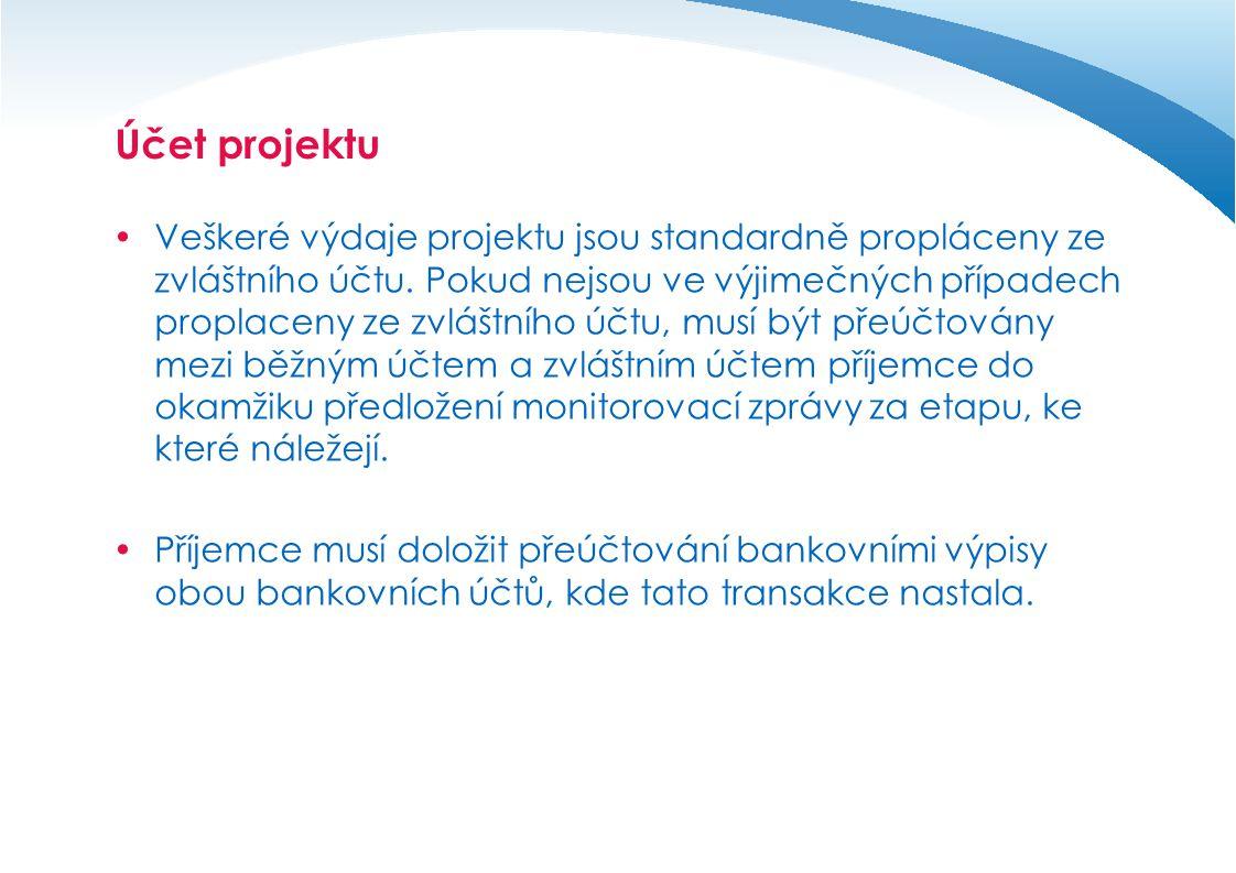 Účet projektu