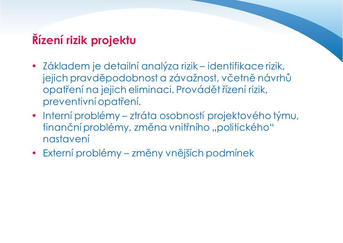 Řízení rizik projektu