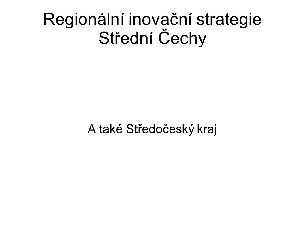 Regionální inovační strategie Střední Čechy