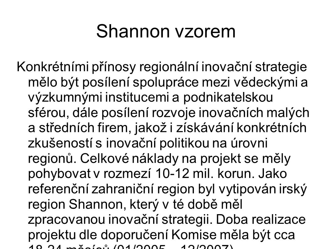 Shannon vzorem