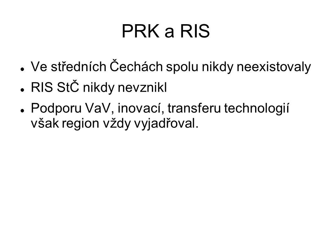 PRK a RIS Ve středních Čechách spolu nikdy neexistovaly