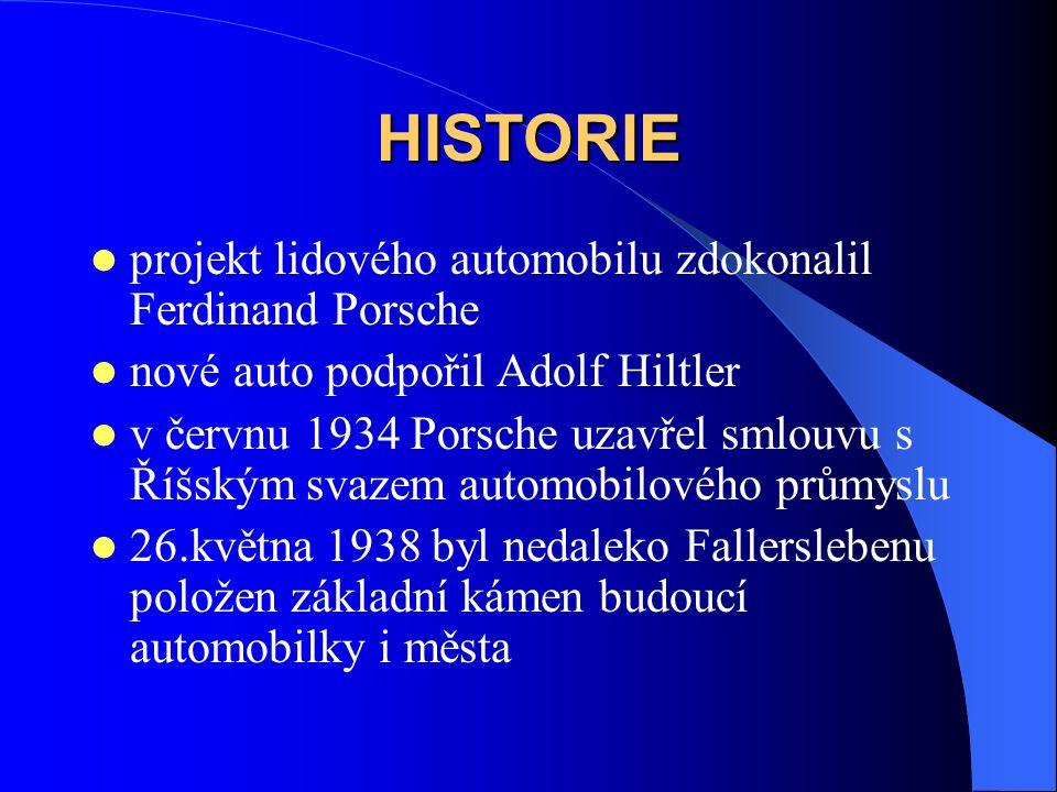 HISTORIE projekt lidového automobilu zdokonalil Ferdinand Porsche