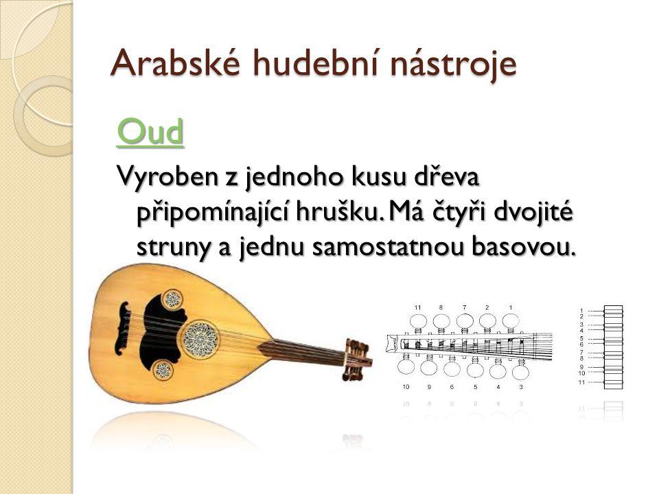 Arabské hudební nástroje