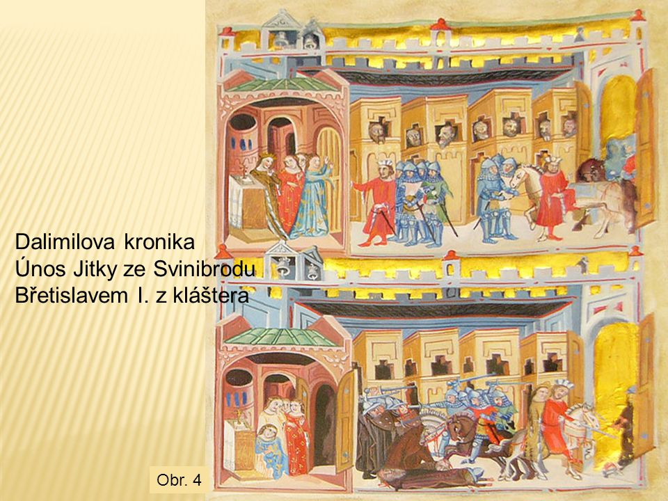 Únos Jitky ze Svinibrodu Břetislavem I. z kláštera