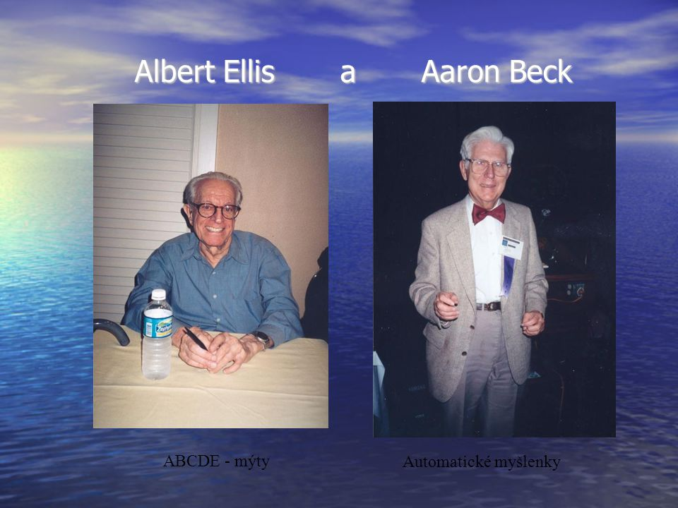 Albert Ellis a Aaron Beck