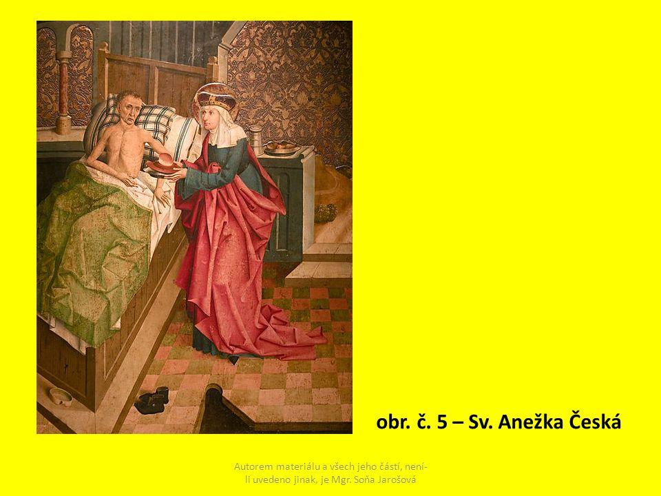 obr. č. 5 – Sv. Anežka Česká Autorem materiálu a všech jeho částí, není-li uvedeno jinak, je Mgr.