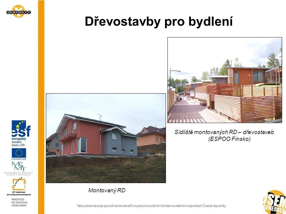 Dřevostavby pro bydlení