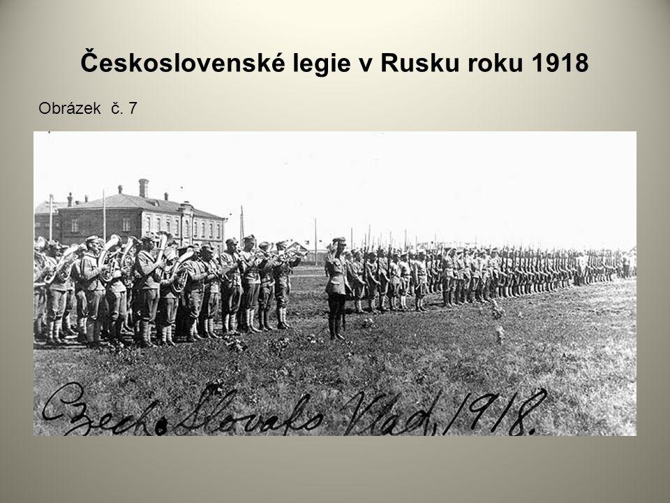 Československé legie v Rusku roku 1918