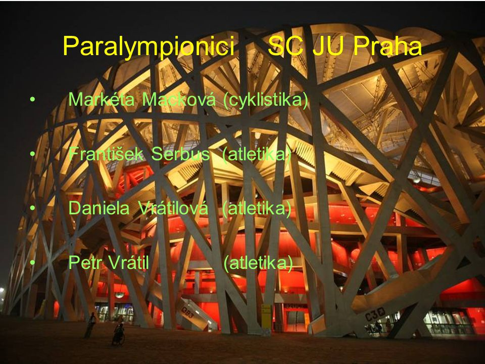 Paralympionici SC JU Praha