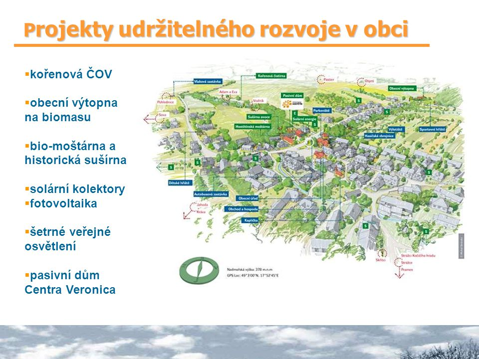 Projekty udržitelného rozvoje v obci