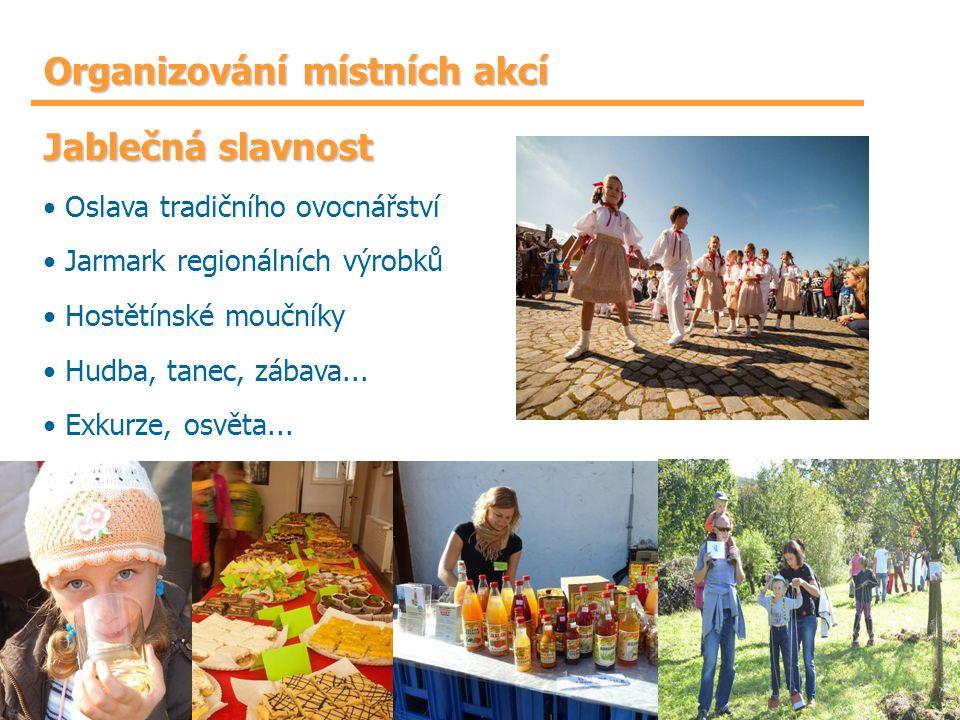 Organizování místních akcí
