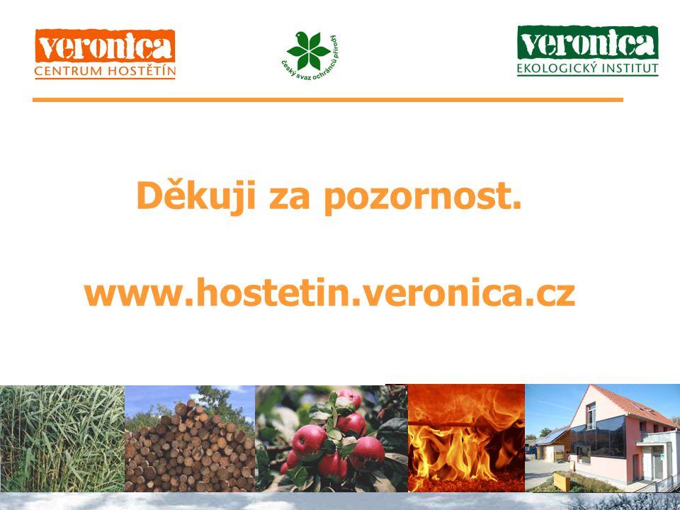 Děkuji za pozornost. www.hostetin.veronica.cz