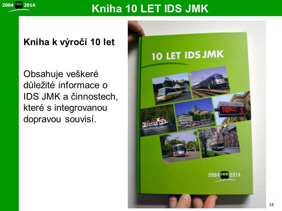 Kniha 10 LET IDS JMK Kniha k výročí 10 let