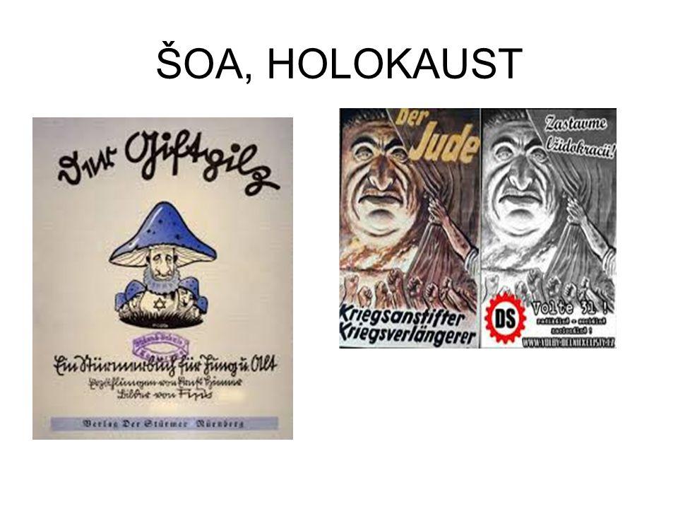 ŠOA, HOLOKAUST