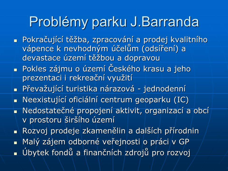 Problémy parku J.Barranda