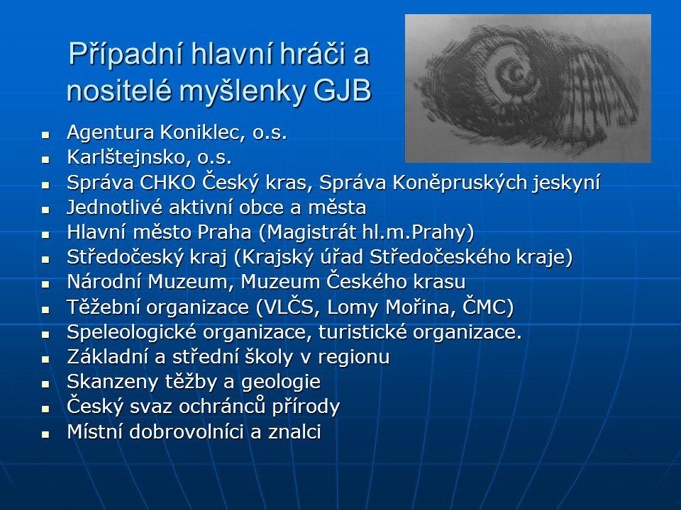 Případní hlavní hráči a nositelé myšlenky GJB