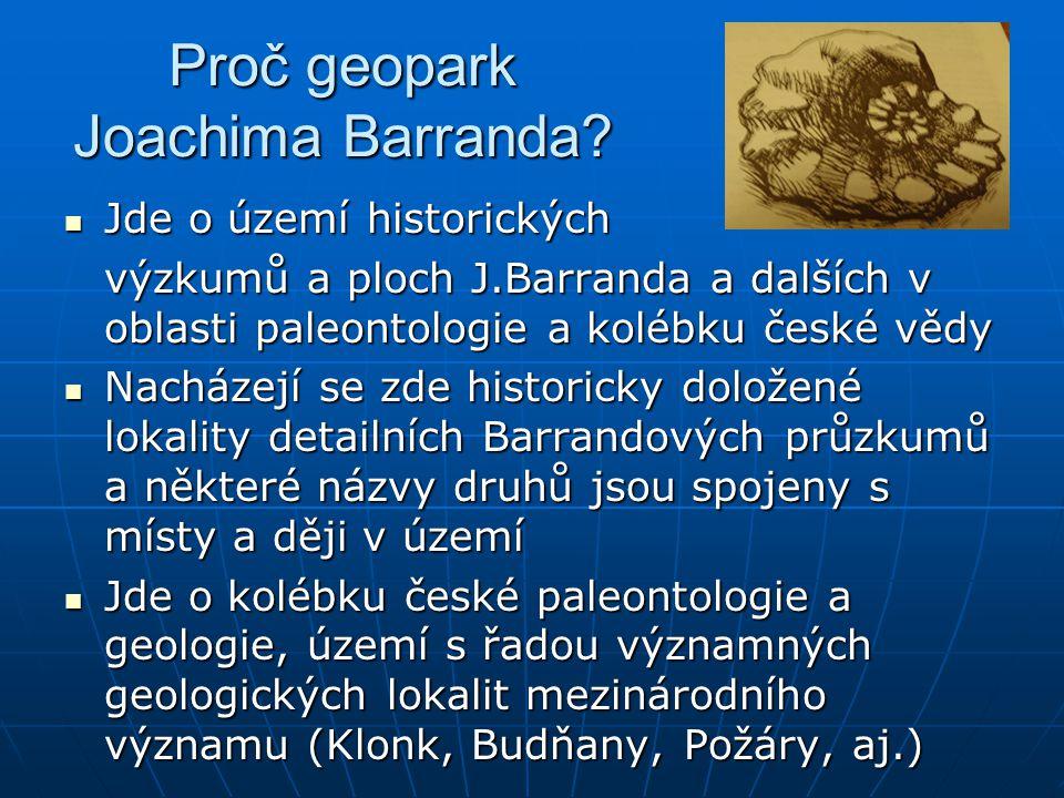 Proč geopark Joachima Barranda