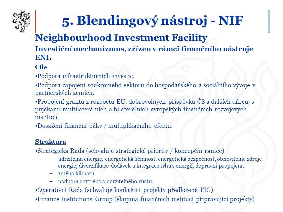 5. Blendingový nástroj - NIF