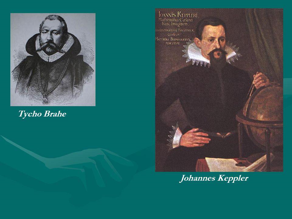 Tycho Brahe Johannes Keppler
