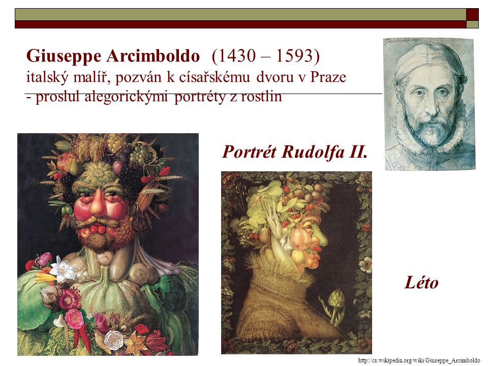 Giuseppe Arcimboldo (1430 – 1593)