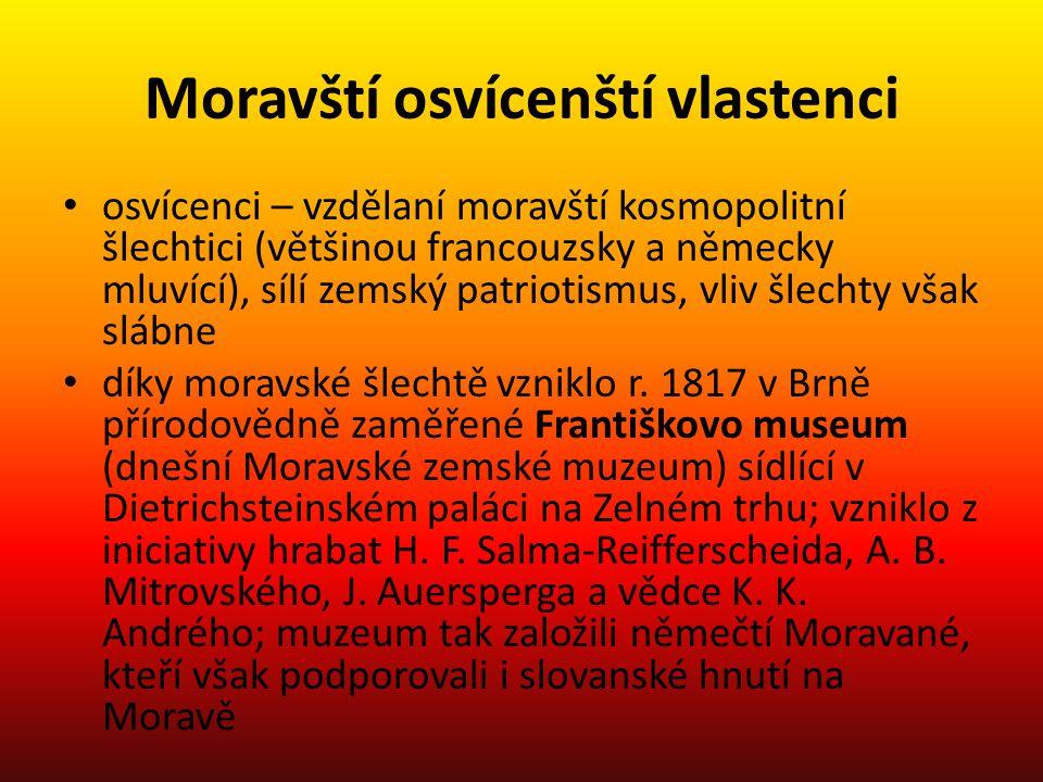Moravští osvícenští vlastenci