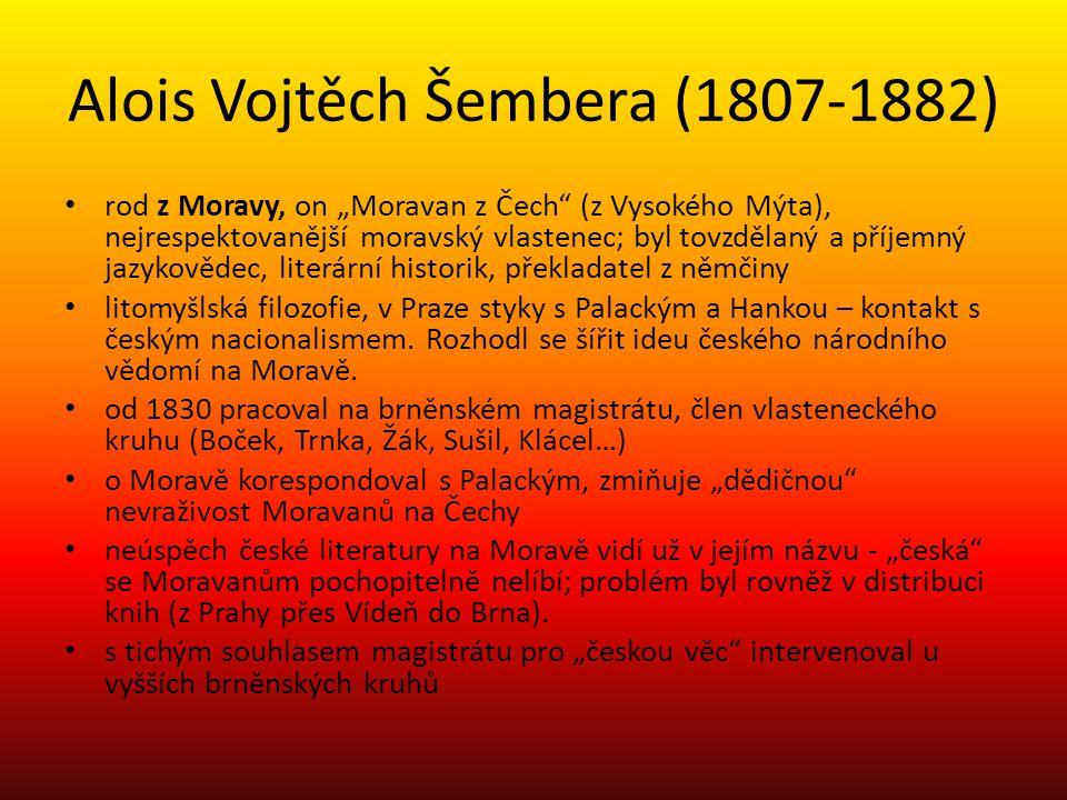 Alois Vojtěch Šembera (1807-1882)