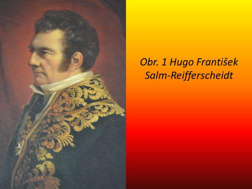 Obr. 1 Hugo František Salm-Reifferscheidt