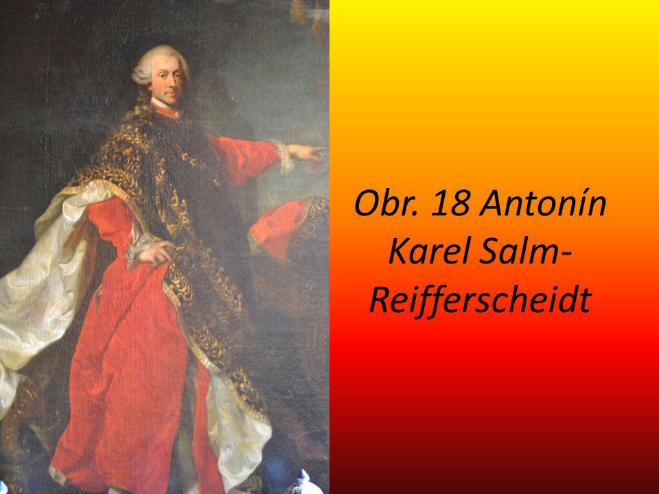 Obr. 18 Antonín Karel Salm-Reifferscheidt