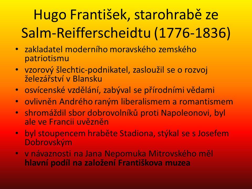 Hugo František, starohrabě ze Salm-Reifferscheidtu (1776-1836)