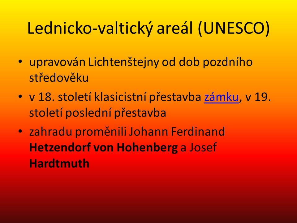 Lednicko-valtický areál (UNESCO)