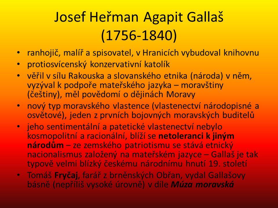 Josef Heřman Agapit Gallaš (1756-1840)
