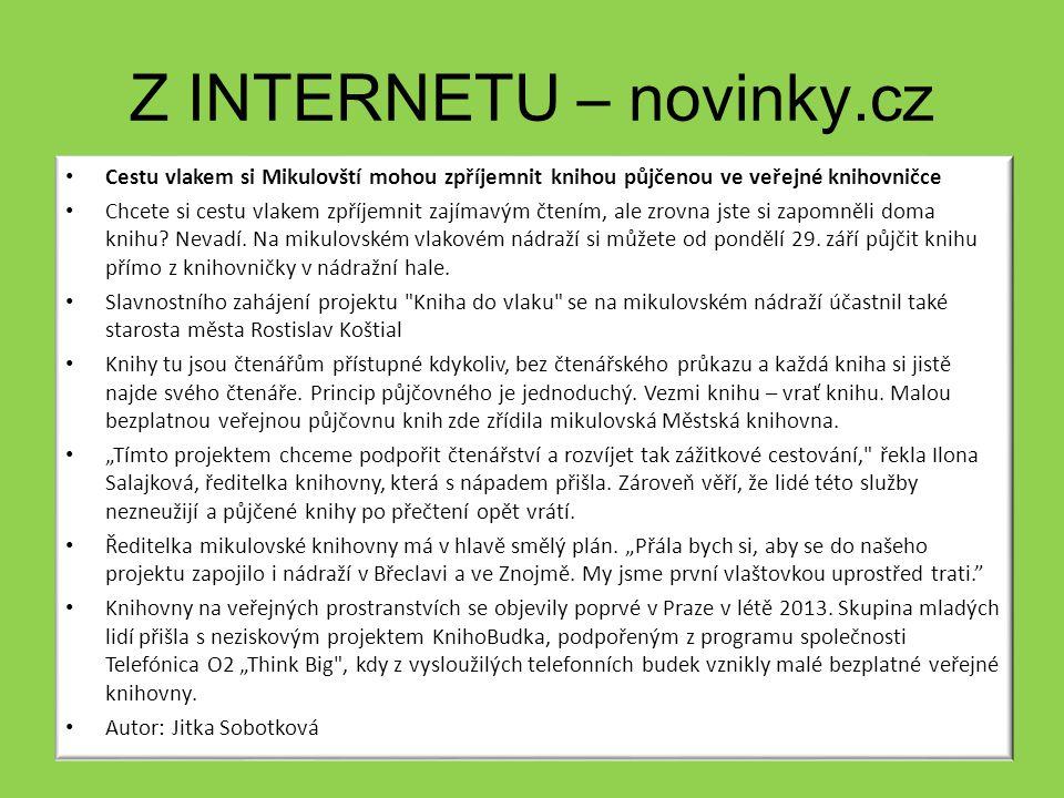 Z internetu – novinky.cz